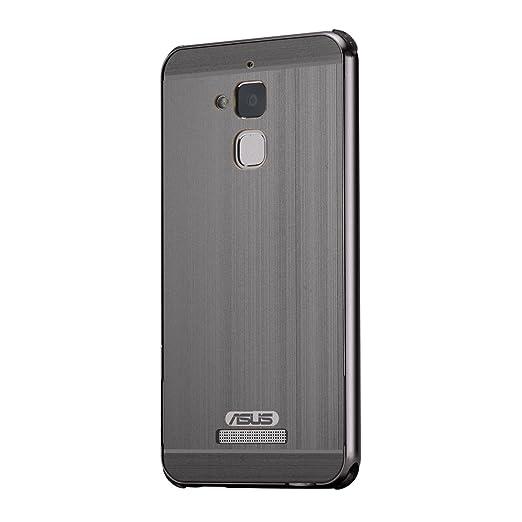24 opinioni per Custodia Asus ZenFone 3 Max ZC520TL, Ultra Sottile Metal Frame Bumper Cover