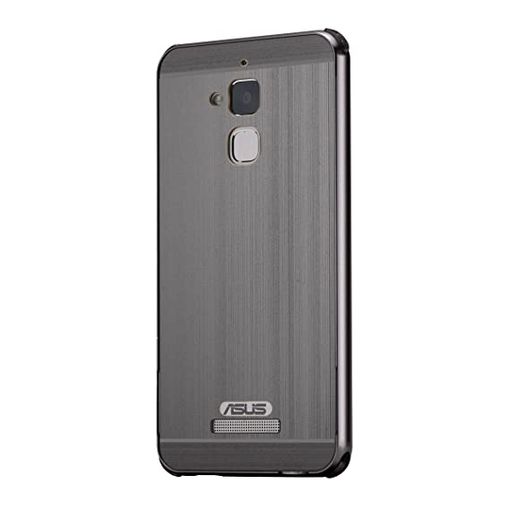 official photos 77a1c 22e78 Asus Zenfone 3 Max Case,DAMONDY Luxury Shockproof Metal Brushed Acrylic PC  Back Premium Aluminum Bumper Case Cover with Push-Pull Frame for Asus ...