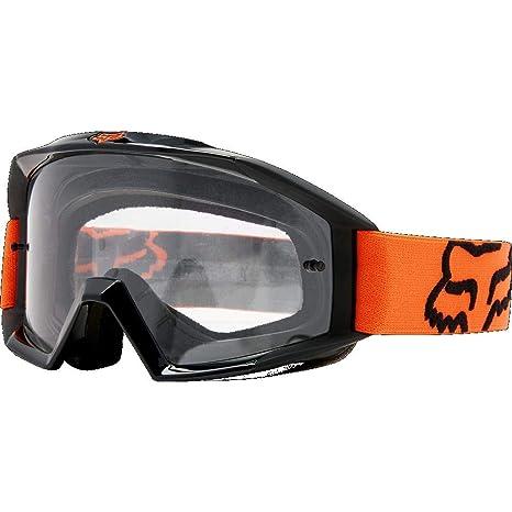 0e9230c8c96 Amazon.com  Fox Racing Main Adult MX Motorcycle Goggles Eyewear - Orange One  Size  Fox Racing  Automotive