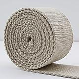 Correa de yute 85mm, rollo de 25 metros para tapiz y ...