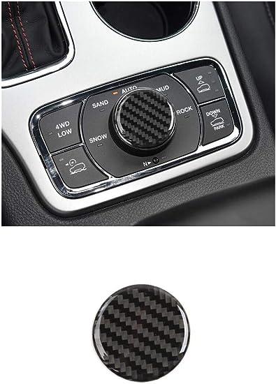 Nicebee ABS Carbon Fiber Dashboard Speaker Trim Cover for Jeep Grand Cherokee 2014 2015 2016 2017 2018