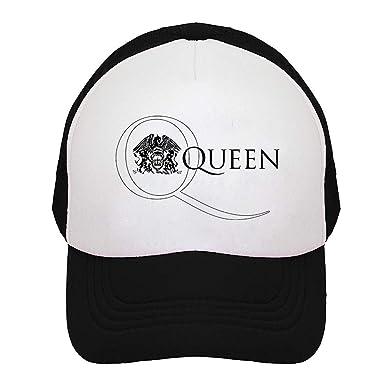 MOMOHOOPY Gorra de camioneta de Banda Queen para Hombre y Mujer ...