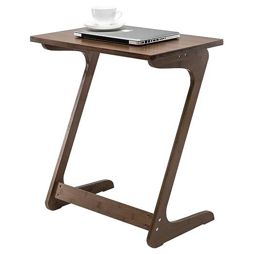 Mesa de centro de Nnewvante, escritorio portátil con laterales ...