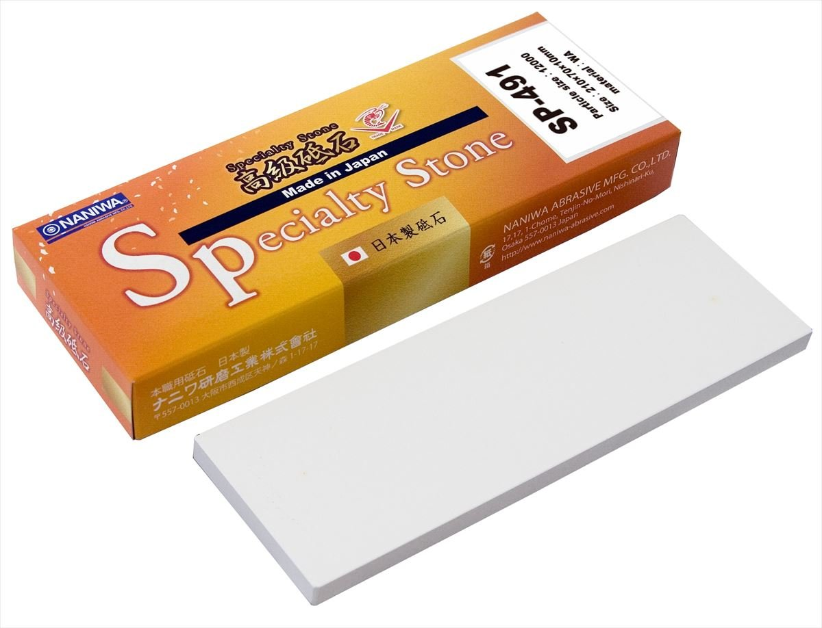 Sharpening stone [Specialty Stone 12000 grit SP-491] NANIWA Made in Japan