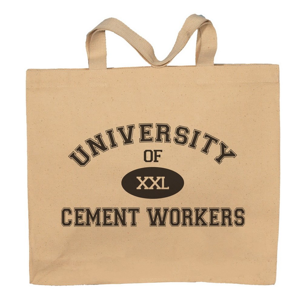 University Of XXL Cement Workers Totebag Bag