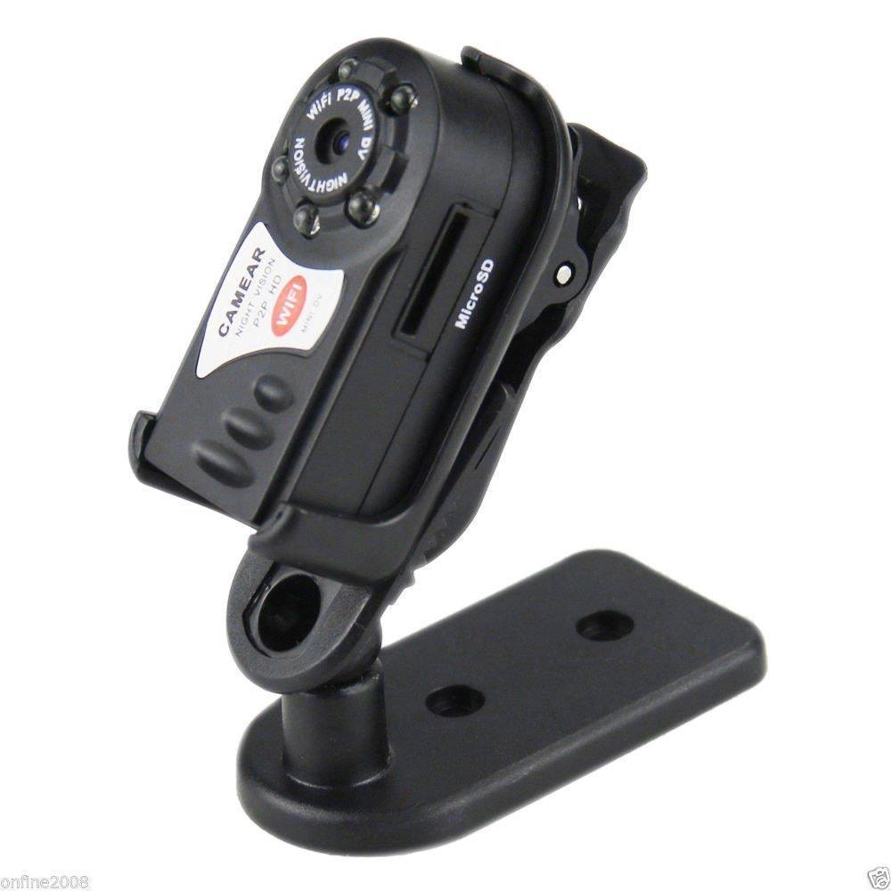 Leoie Wireless Q7 WiFi Camera P2P Mini DV Night Vision IR Video Recorder DVR
