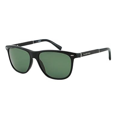 e730ac061d Ermenegildo Zegna EZ0009 01N ZEISS Men Black Polarized Wayfarer Sunglasses  56mm  Ermenegildo Zegna  Amazon.co.uk  Clothing