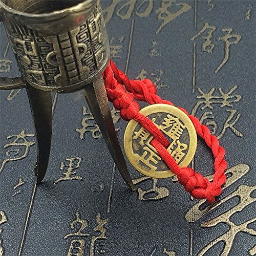 Antique hand-woven Five Emperors coins Ly transport models adult male red string bracelet Ms. jewelry wholesale
