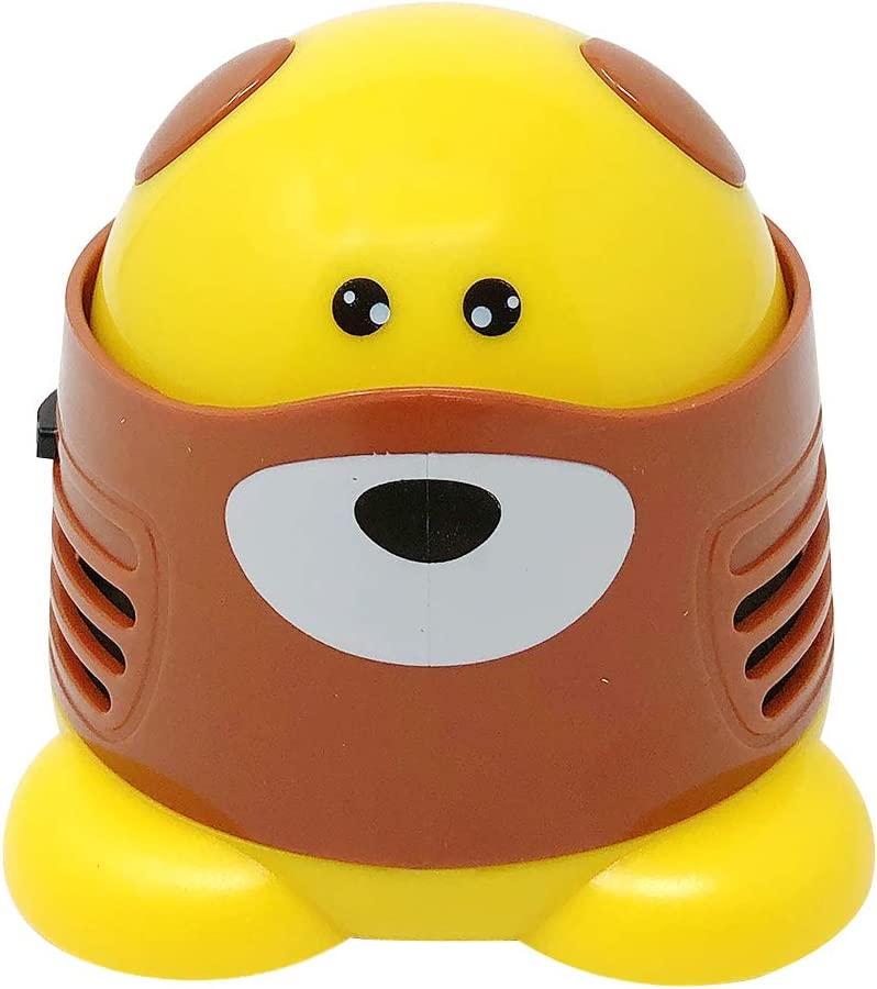 Allydrew Cute Portable Mini Vacuum Cleaner for Home and Office, Dog