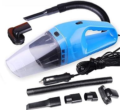 Woocika Aspiradora Coche 150W, Aspiradora Coche Potente 12V, Portátil Aspiradores, Soporta Mojado Seco con 5m Cable, Filtro HEPA Multicapa, Lavable y Reutilizable: Amazon.es: Coche y moto
