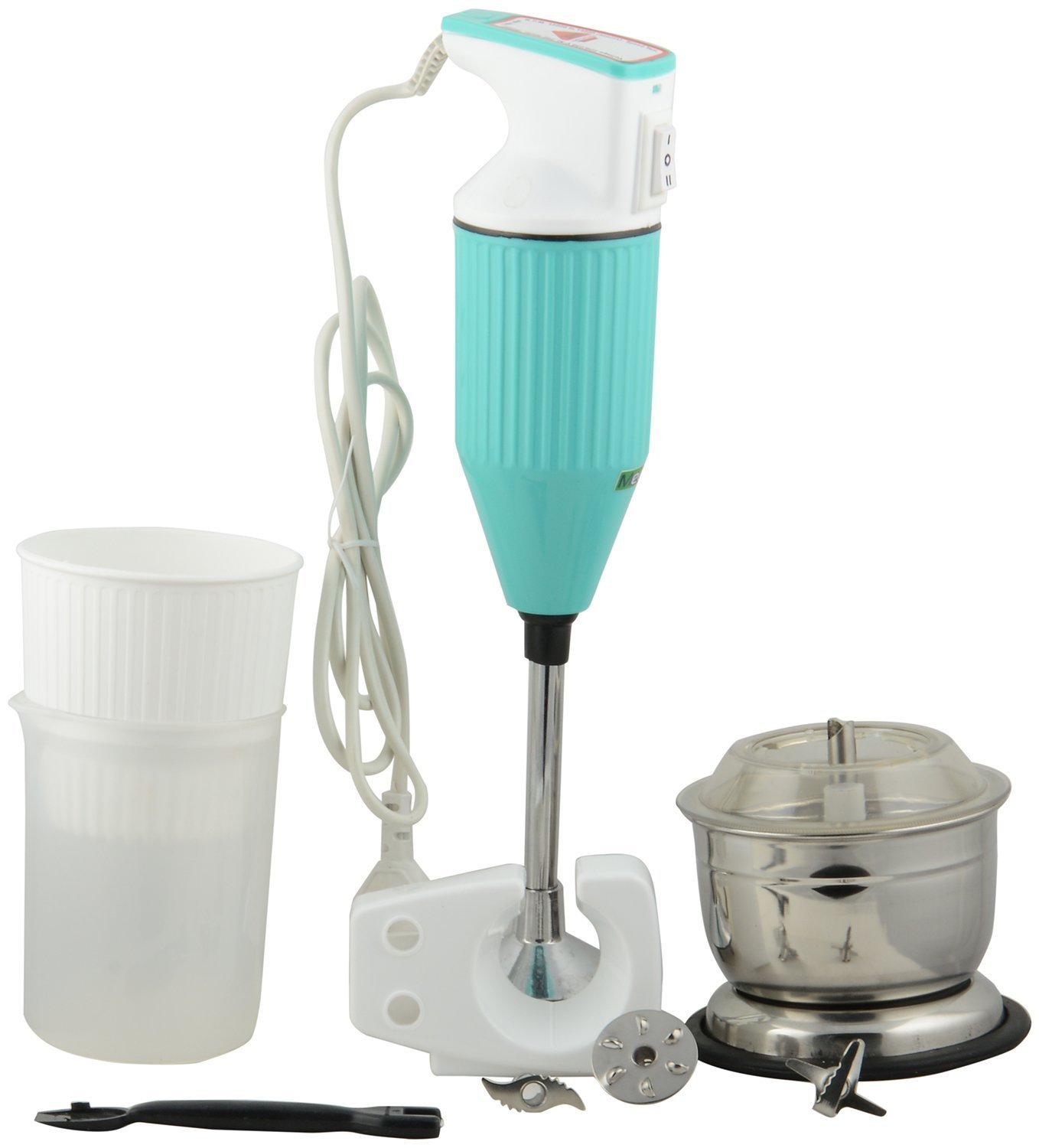 Buy Meet HB001 Hand Blender Mixer With Attachment (In Multi Colours ...