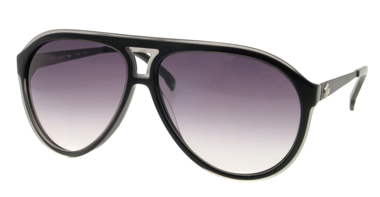 a1b20506b2bd Lacoste Plastic Aviator Sunglasses in Black - L694S 001 59  Amazon.ca   Clothing   Accessories