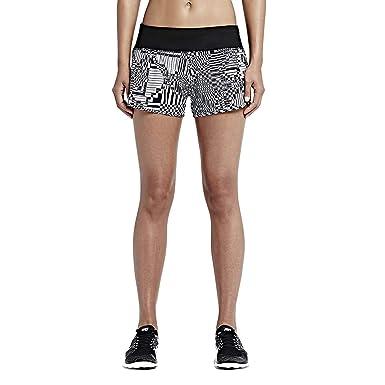 Short Noir Cm Imprimé Pour 1 Tissu Running Rival De 5 Femme Nike qg51PZ