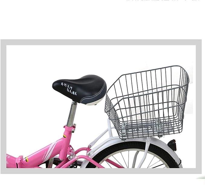 YSXBasket11 Cesta Bicicleta Cesta Trasera De Bicicleta Cesta ...