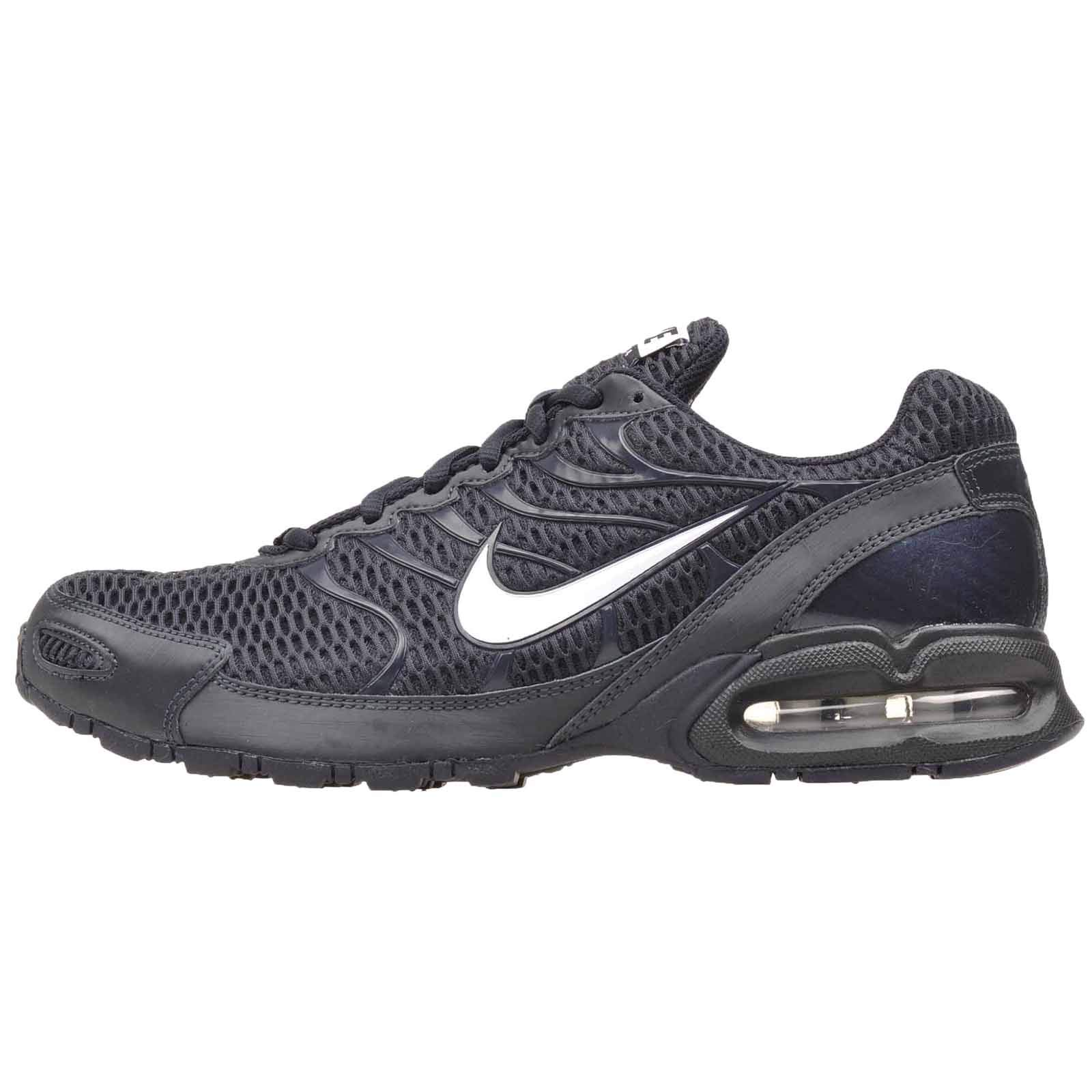 NIKE Men's Air Max Torch 4 Running Sneakers (10.5, Dark Obsidian/White)