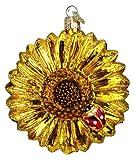 Old World Christmas Sunflower Glass Blown Ornament