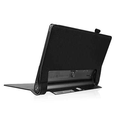 Fintie Folio Funda para Lenovo Yoga Tab 3 Pro - Slim Fit Carcasa de Cuero Sintético con Función de Soporte y Auto- Reposo/Activación para Lenovo Yoga ...