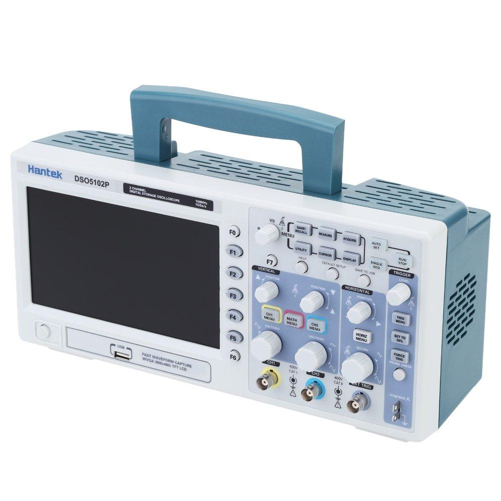 HantekDsoP Osciloscopio de Almacenamiento Digital Certificado Ch Mhz Gs Tft Bit Ns