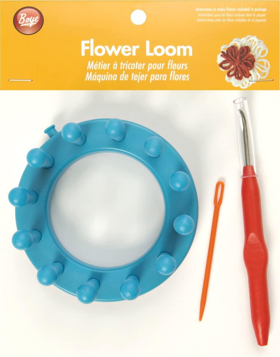 Round 3.6 inches All Things You Flower Loom Plastic
