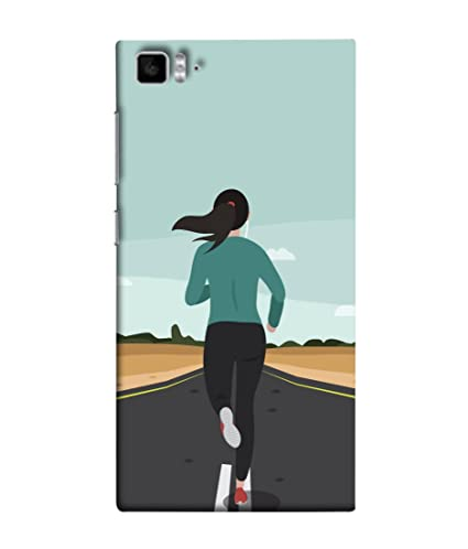 Xiaomi Mi3 Xiaomi Mi 3 Back Cover Girl Workout On The Amazonin