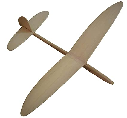 Hangar S Chuck & Catapult Glider Hand Launched Angry Bird DIY (Do It Your  self) Aeroplane Kit