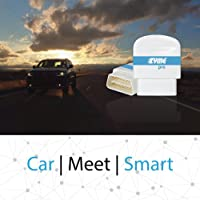 Zyme Pro Smart Car Dongle   GPS Tracking   Remote Performance Monitoring   Theft, Towing Alerts   Compatible with Google Home and Amazon Alexa