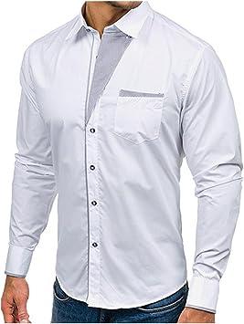 Babi Camiseta Manga Larga Hombre Camiseta Manga Larga ...