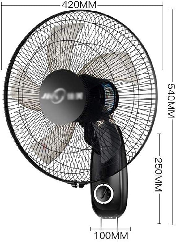 Ventilador de pared / silencioso para el hogar Ventilador mecánico/ Ventilador Industrial/para dormitorios Restaurante Garaje: Amazon.es: Hogar