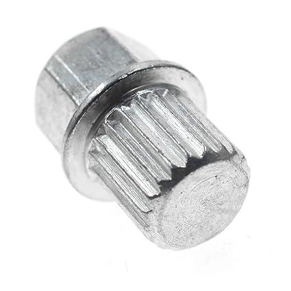 For VW Volkswagen Audi Wheel Lock Key 10 Pointed Spline Style ABC 0 US FAST SHIP