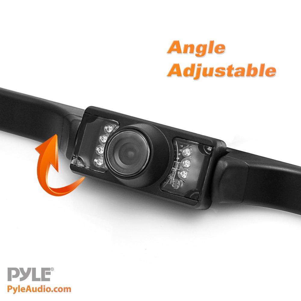 ... Scale Lines Backup Parking/Reverse Assist Marine Grade Waterproof  Adjustable Slim Bar Cam Night Vision LEDs w/ 420 TVL Resolution - Pyle  PLCM10: Pyle: ...