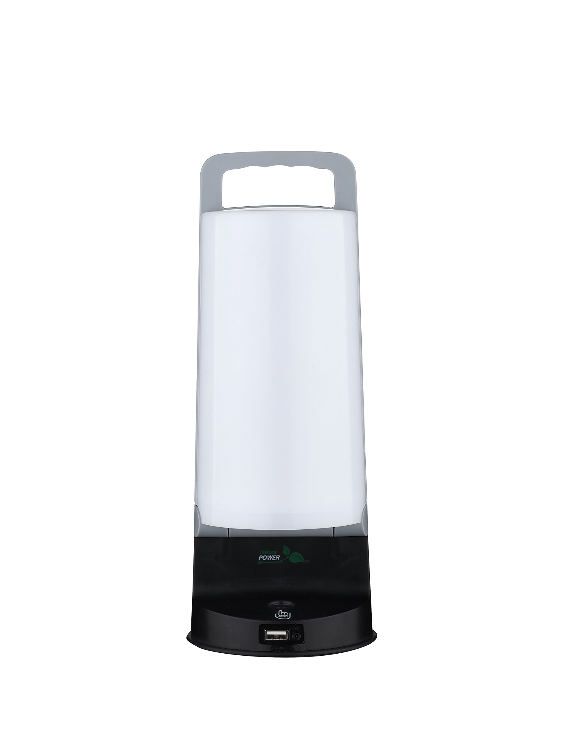 Nature Power 24803 ECO Solar Powered LED Lantern with USB Charger