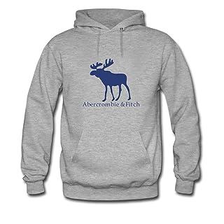 br/ El logotipo de Abercrombie & Fitch para niños/niñas printed Sweatshirt-Sudadera con capuchabr/
