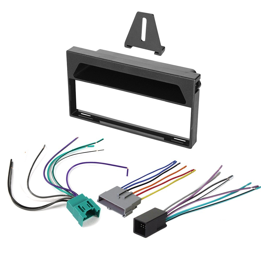 Amazon.com: 1997 - 1998 FORD F-150 AFTERMARKET CAR STEREO RADIO SINGLE DIN  DASH INSTALLATION KIT WIRING HARNESS: Car Electronics