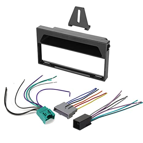 Amazon.com: 1997-1998 Ford F-150 AFTERMARKET CAR Stereo Radio Single on ford truck replacement parts, ford exhaust kits, ford winch mounting kits, ford transmission solenoid problems, ford falcon lowering kit, ford power steering kits, ford ranger radio install kit, ford air filters, ford steering column upper bearing, ford falcon parts catalog, ford brake line kits, ford truck bed kits, trailer wiring kits, ford clutch kits, 2003 ford focus radio install kits, ford truck lowering kits, ford intercooler kits, ford wire harness repair, ford edge stereo upgrade, ford ranger stereo replacement,