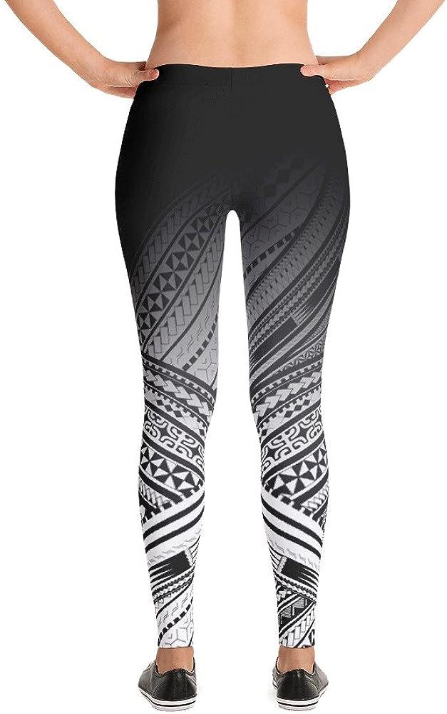 Atikapu Polynesian Design Leggings. Mix of Maori, Tonga, Samoa, Fiji, Tahiti and Marquesas Designs. Great Workout Leggings.