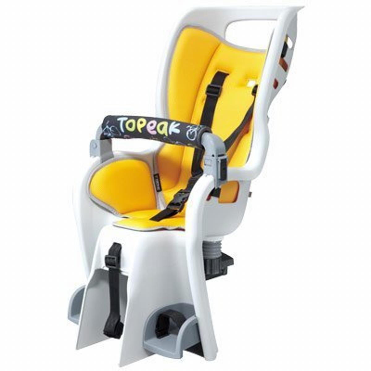 TOPK BABYSEAT II ONLY BabySeat II, Babyseat only, without rack, Yellow color seat pad