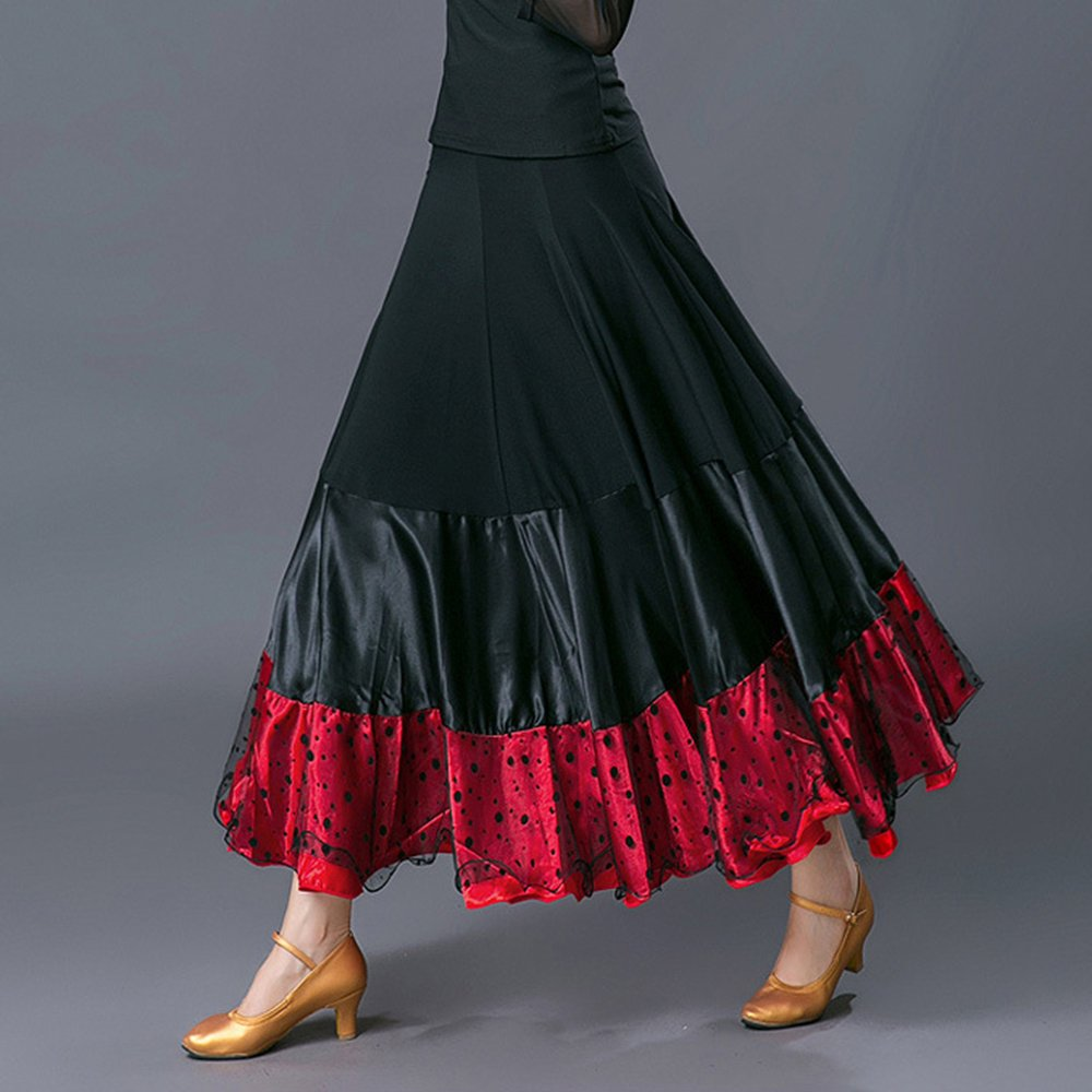 Wanson Lady Classic Modern Dance Kleid Ballroom Dance Big Swing Swing Swing Rock Dance Wettbewerb Leistung Kostüm B07F2MGR3H Bekleidung Jahresendverkauf be4edc