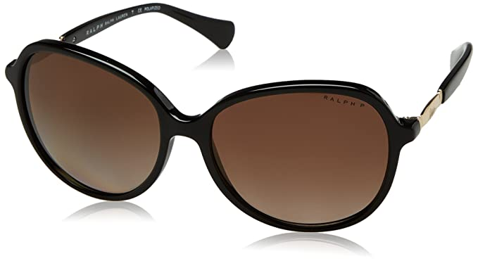 a2d70434075 Image Unavailable. Image not available for. Color  Ralph by Ralph Lauren  Women s 0ra5220 Polarized Round ...