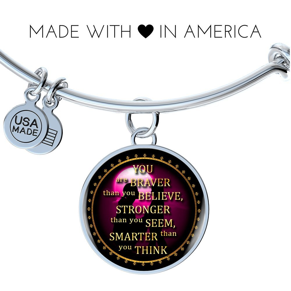 Inspirational Bracelet Mom To Daughter Perfect Birthday Christmas Gift Valentine
