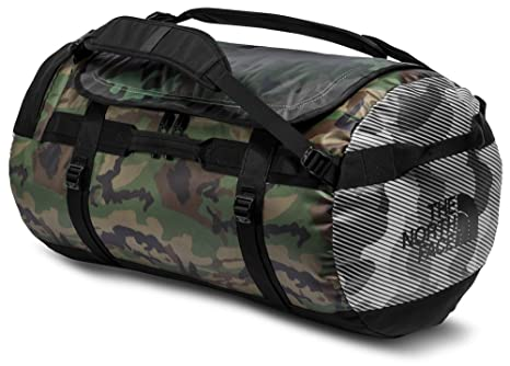 5bc78f98e72 The North Face Base Camp Duffel L Multi Camo Print TNF Black  Amazon.ca   Clothing   Accessories