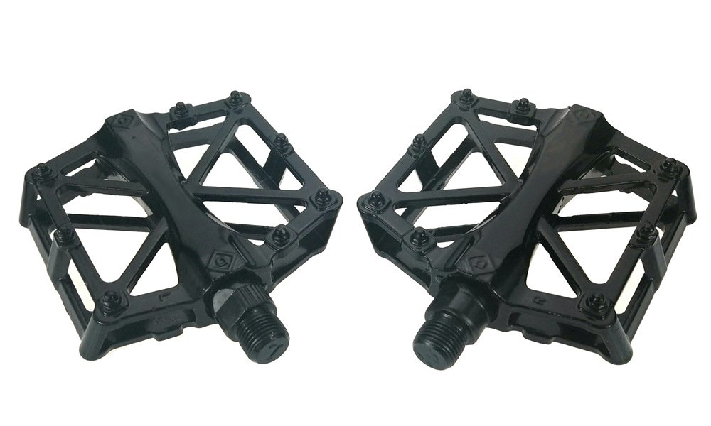 Elife Bike Pedals , Bicycle Platform Pedals for BMX , Mountain Bike Pedals Super Light Bearing Bicycle Pedals Aluminum Alloy Ball Pedals