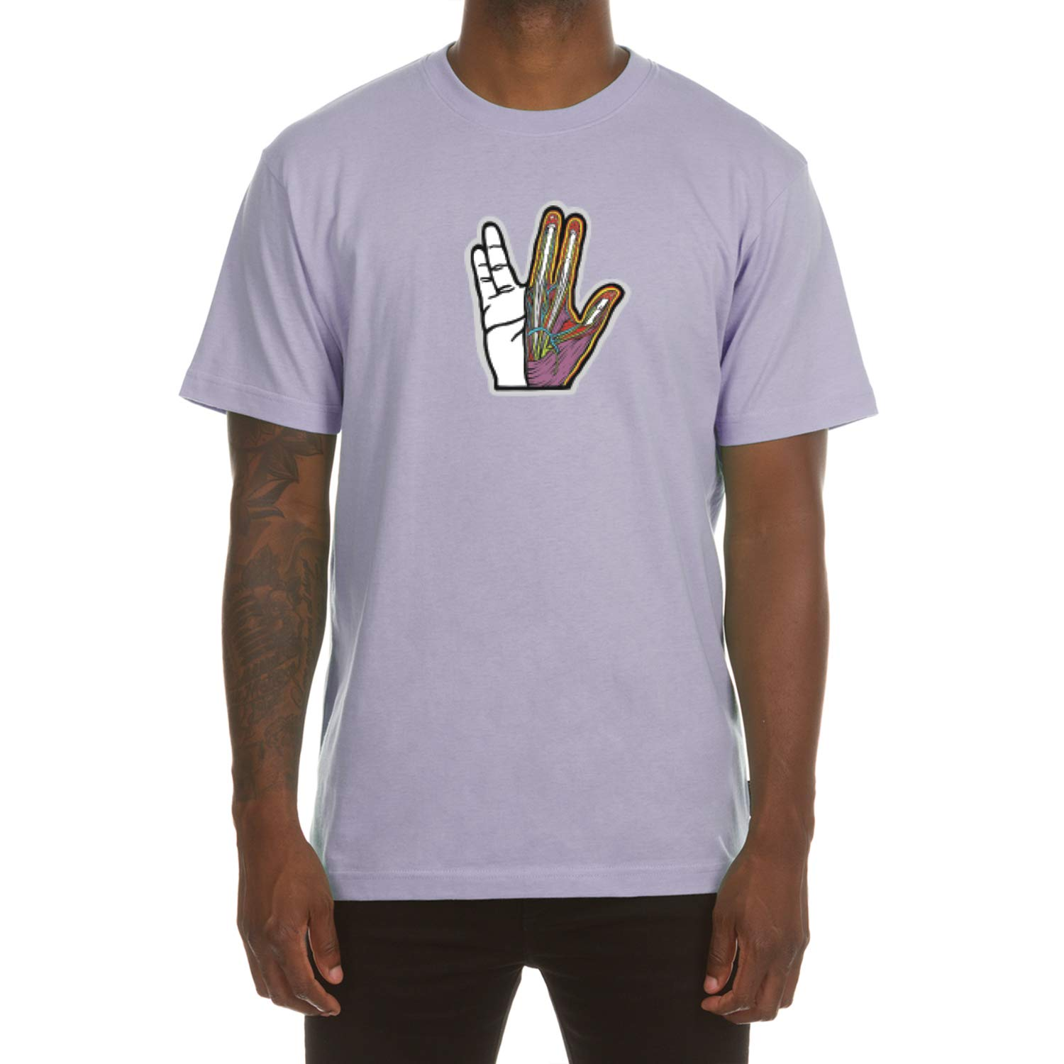 ICECREAM Live Long Short Sleeve Tee in 3 Color Choices 491-2205