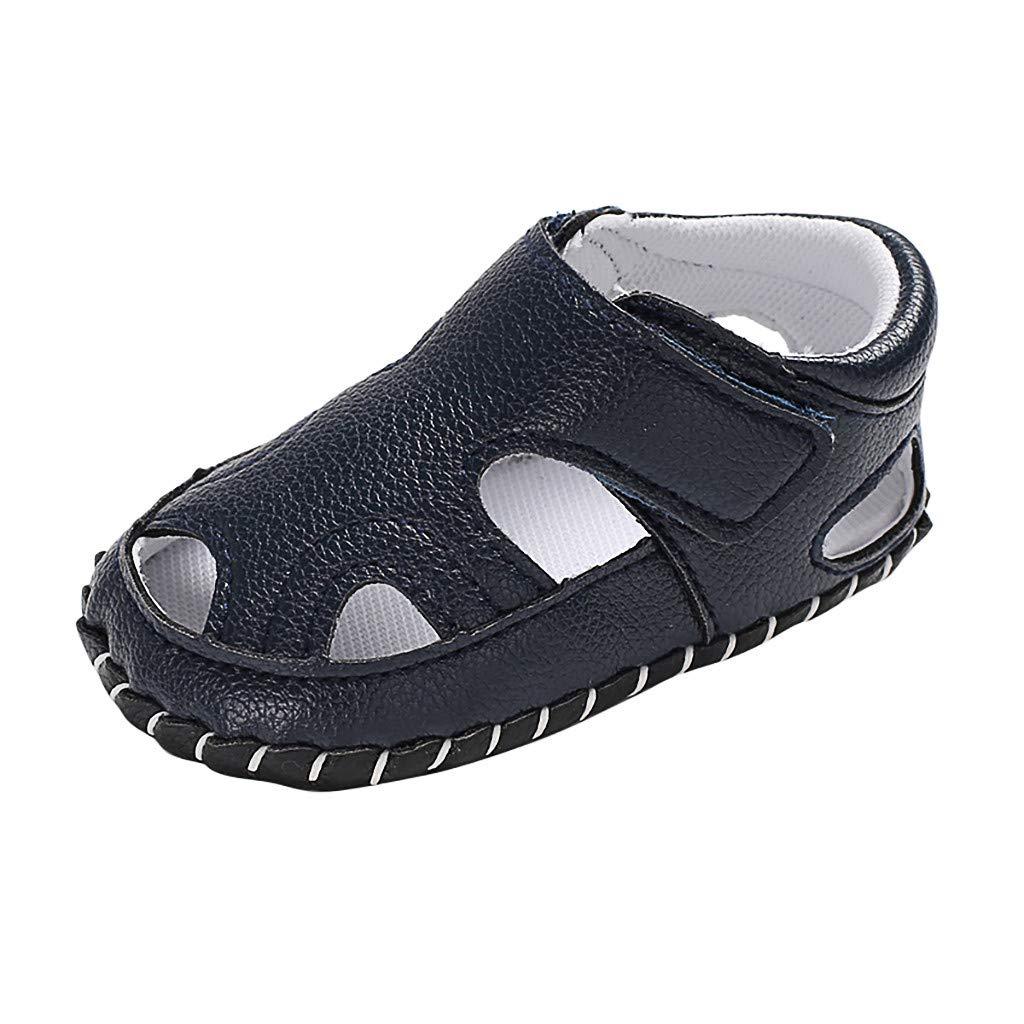 768d8766ac2fe Amazon.com : Cloudro Baby Closoed Toe Sandals Soft Sole Boys Girls ...