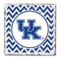 CounterArt Set of 4 Absorbent Tumbled Tile Coasters, University of Kentucky