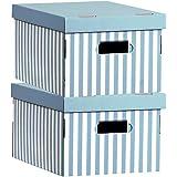 Compactor RAN3311 - Set de 2 cajas de carton con tapa