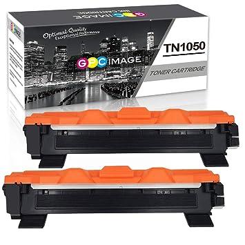 GPC Image TN1050 Cartuchos de Tóner reemplazo Compatible para Brother DCP-1510 DCP-1512 HL-1110 HL-1210W DCP-1612 DCP-1610W HL-1112 MFC-1810 MFC-1910W ...