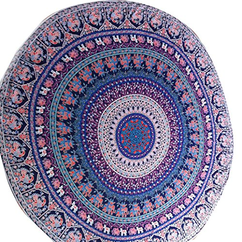 OVERMAL Round Beach Pool Home Shower Tow - Jade Round Wall Hanging Shopping Results