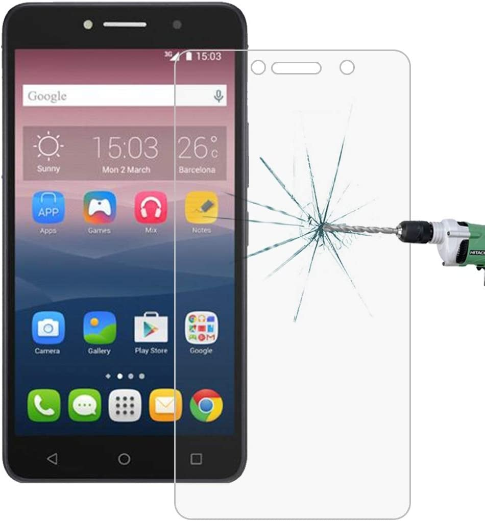 GzPuluz Glass Protector Film 50 PCS for Alcatel One Touch Pixi 4 /& 3 6-inch 0.26mm 9H Surface Hardness 2.5D Explosion-Proof Tempered Glass Screen Film No Retail Package
