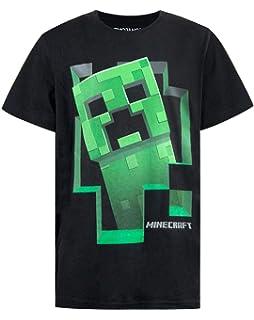 3f7f070931c26 Minecraft - T-Shirt - Creeper - Garçon  Amazon.fr  Vêtements et ...