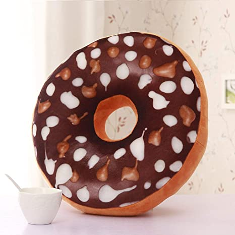 BAIJJ Cojín Donut, Cojín de Dormir de Dormitorio Escolar de ...